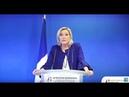 Le pacte de Marrakech : Conférence de presse de Marine Le Pen