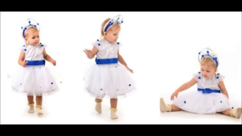 👍 Костюм Снежинка Кроха для девочки — Магазин GrandStart.ru ❤️
