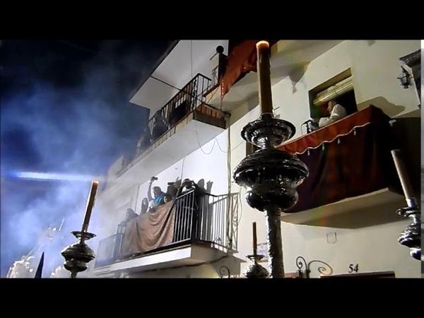 Procesion Virgen de LUZ y ANIMAS ALHAURIN de la TORRE 2019 Poema Emilio Sabado de Pasion 13 04