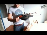 Unboxing the first 7 string prototype w @chapmanguitars