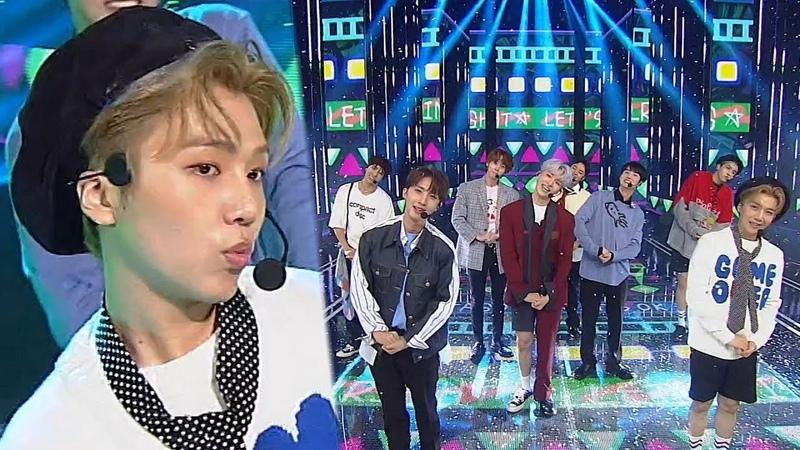 [23.09.2018] PENTAGON - Naughty boy @ Inkigayo