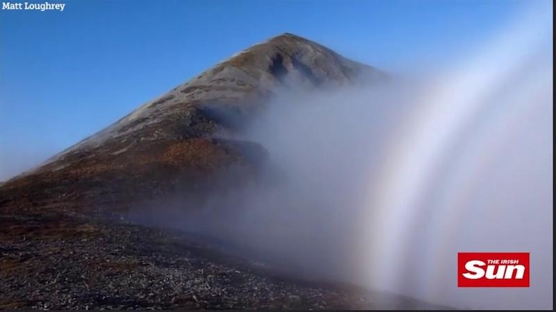 Альпинист снял на видео горного призрака