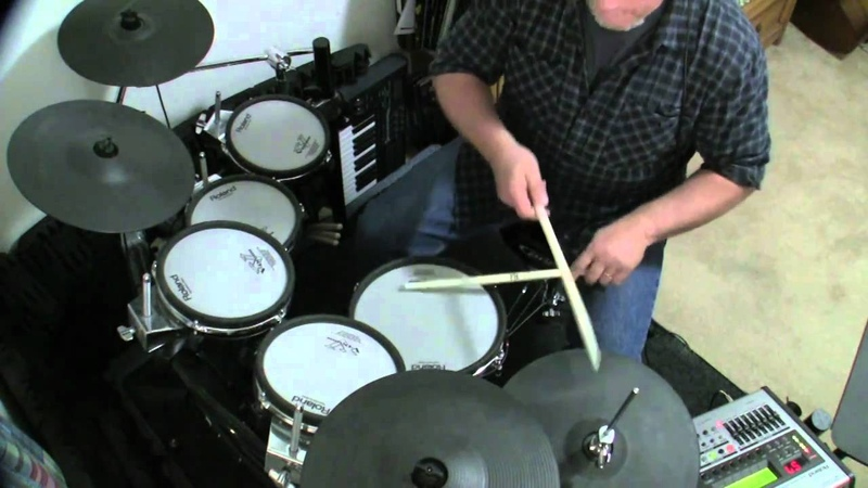 Rhumba Clave Drum Jam w/ Roland V-Drum Loop Pattern