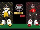 #Buccaneers - #Steelers