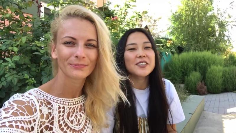 Баина Басанова и Марина Нахалка
