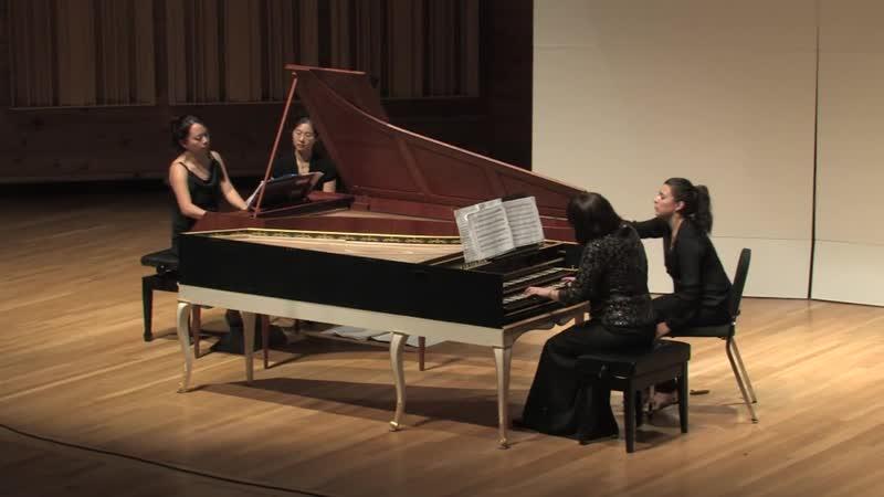 526 J S Bach Trio Sonata No 2 in C minor BWV 526 Yi heng Yang fortepiano Rebecca Cypess harpsichord