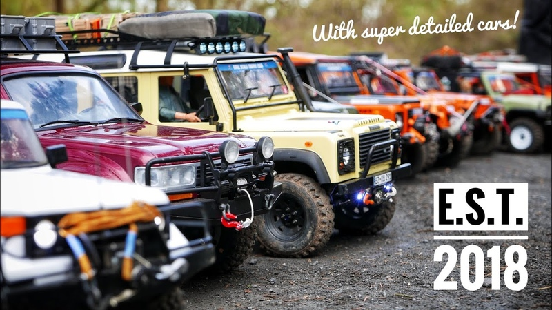 Eifel Scale Trophy 2018 with super detailed RC cars!