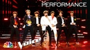 BTS Performs Boy with Luv - The Voice Live Finale 2019