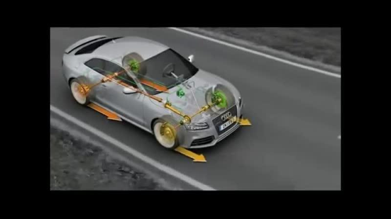Принцип работы системы полного привода Audi Quattro на примере Audi RS5 ghbywbg hf,jns cbcntvs gjkyjuj ghbdjlf audi quattro yf g