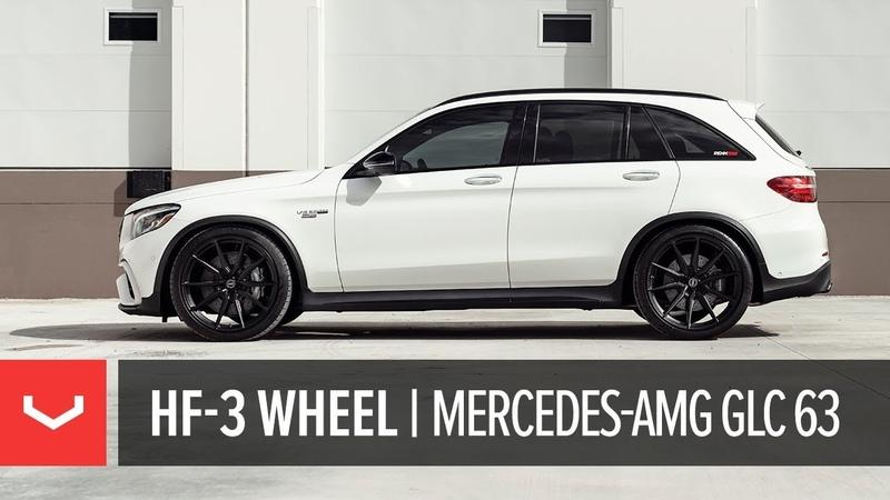 Vossen Hybrid Forged HF-3 Wheel | Mercedes-AMG GLC 63 SUV