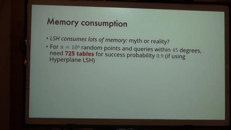 Lecture 15   Recent Advances in Algorithms   Ilya Razenshteyn