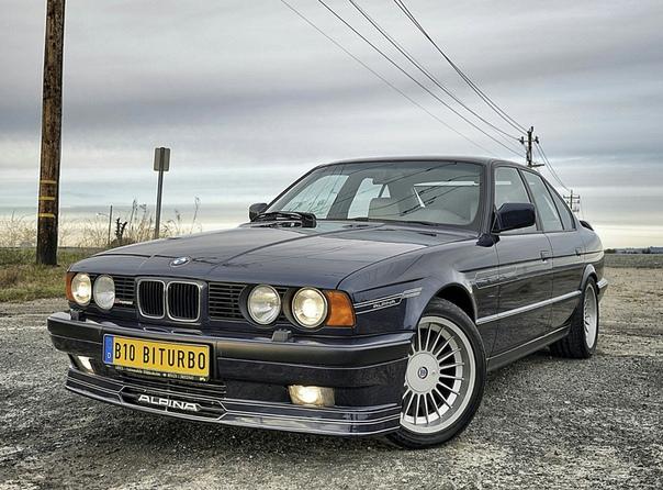 Очень редкие : Alpina B10 Bi-Turbo (E34) `1990 Двигатель: 3.4 R6 M30B34 Bi-Turbo Мощность: 360 л.с. при 6000 об/мин Крутящий момент: 520 Нм при 4000 об/мин Трансмиссия: Механика 5 ступ. Макс.