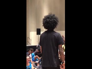 Laurent's amazing freestyle!!! Via @devotedcoconut IGTV #Atlantaworkshop2019