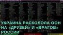 Украина расколола ООН на «друзей» и «врагов» России (Камран Гасанов)