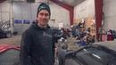 Rasmus Nissan s13 med corvette motor Garagebesök i vaggeryd