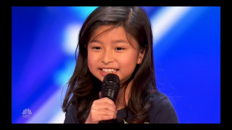 Celine Tam, 9 - My Heart Will Go On - Best Audio - America's Got Talent June 20, 2017
