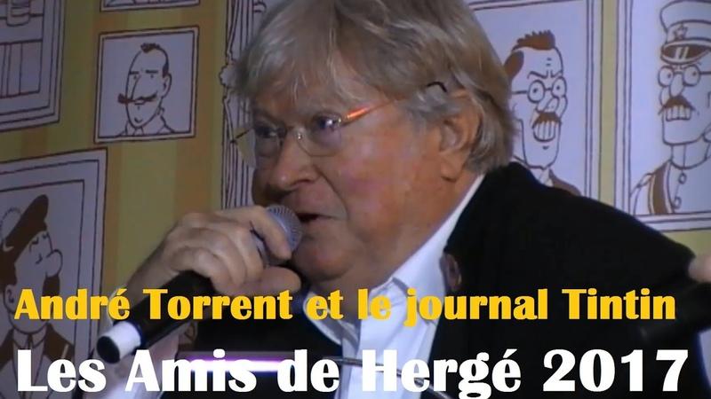 André Torrent et le journal Tintin - ADH 2017