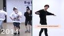 Bts jin dancing improvement 2013-2018