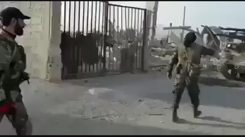 élite del Ejercito Syrio en combate de la Guta del Este ✭ Damasco Syria marzo 2018.mp4