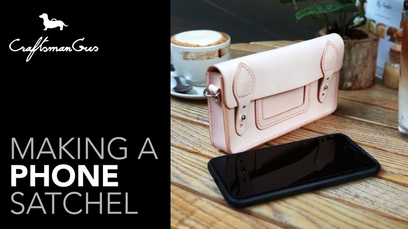 IPhone Bag Satchel LeatherAddict EP45