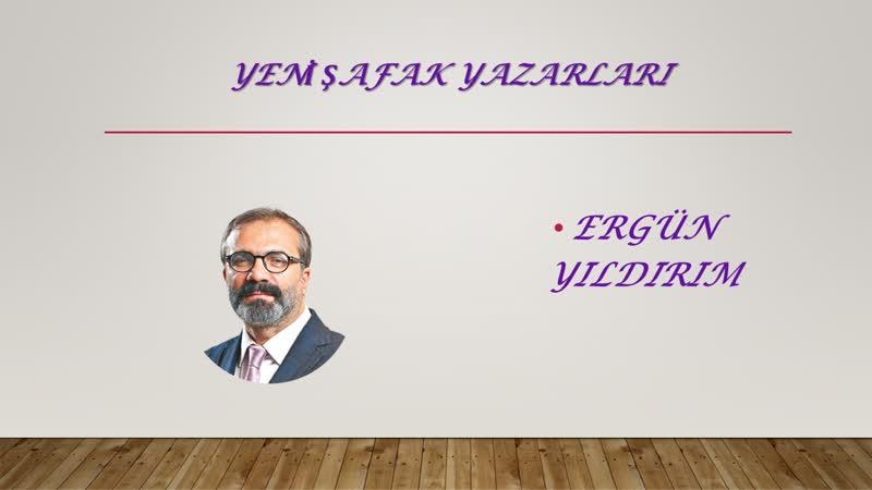 Yeni kabine ve moral siyaset-Ergün Yıldırım- 23.07.2017