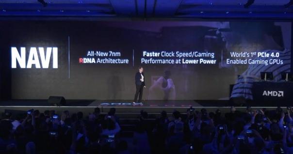 Анонс видеокарт линейки AMD Radeon RX 5000