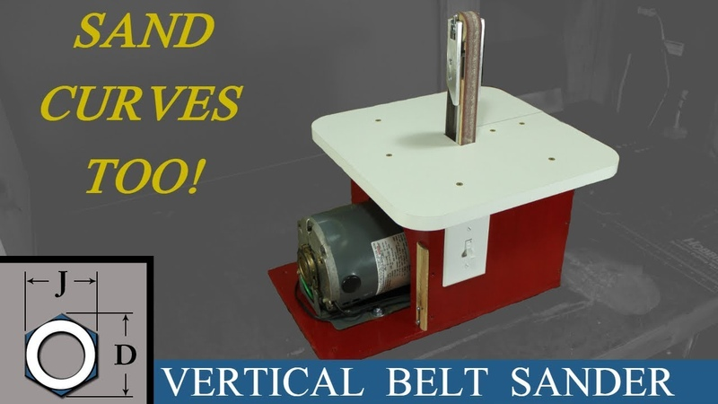 Building the Vertical 1 Belt Sander