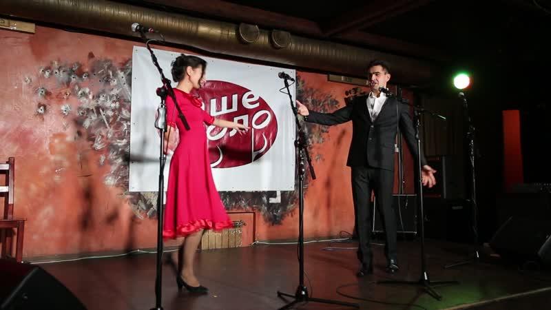 Дмтиий Суртаев и Светлана Хасанова Диалог у Новогодней Ёлки