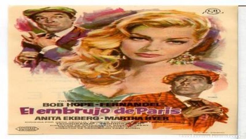 Comedia.- El embrujo de París.-(1958).Español