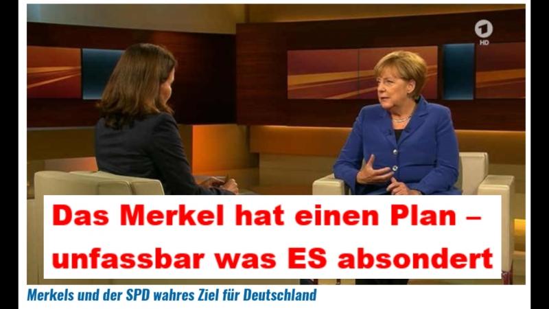 Merkel bei Anne Will ********** Ich habe einen Plan