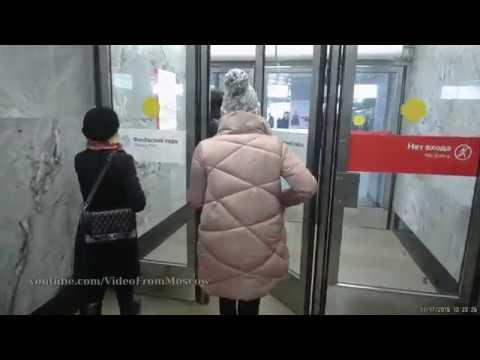 метро Филёвский парк 17 ноября 2018