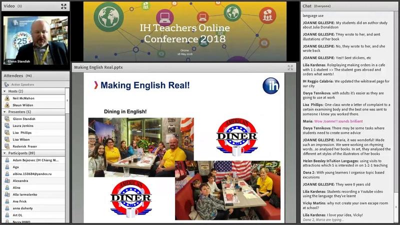 IH TOC 10: Making English Real! – Glenn Standish, IH Toruń