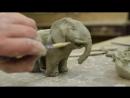 Как из глины сделать слона