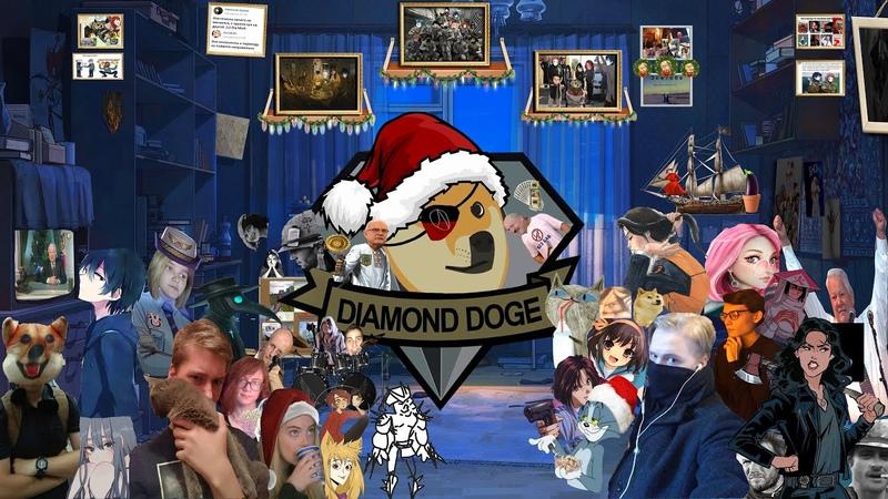 Новогоднее поздравление Diamond Doge 2019