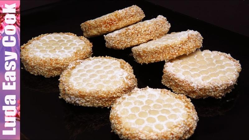 Красивое печенье УЗОР обычной ТЕРКОЙ Красиво Легко и Просто ВЫПЕЧКА на НОВЫЙ ГОД Вкуснотища к чаю!