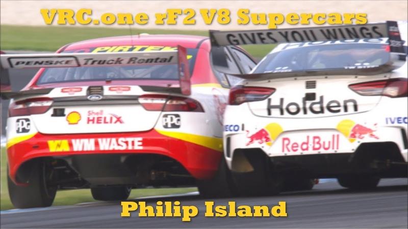VRC rF2 V8 Supercars - Round 5 - Phillip Island