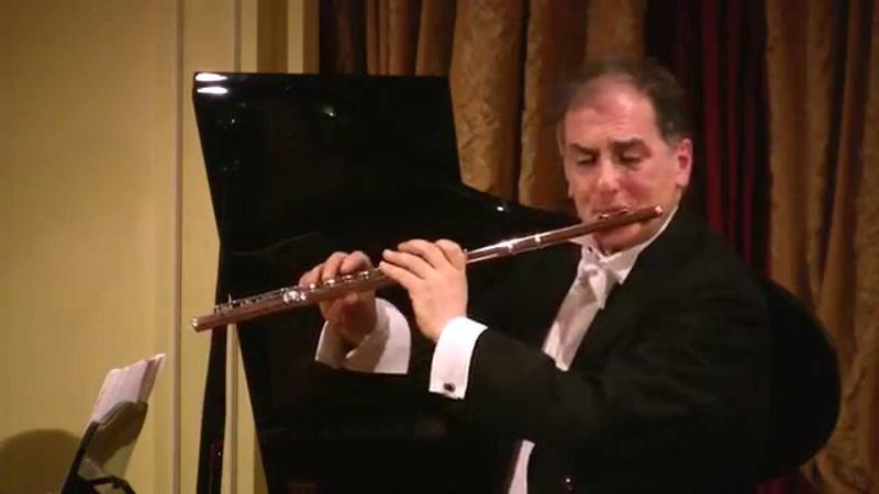 J. S. Bach, Flute Sonata in E-flat major BWV 1031-Allegro-Claudio Barile flute - Paula Peluso piano
