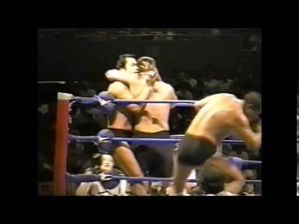 Antonio Inoki/Dan Severn vs Yoshiaki Fujiwara/Oleg Taktarov (Peace Festival June 1st, 1996)