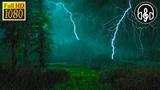 Успокаивающий шум дождя, звуки грозы и грома. 6 Часов глубокого сна