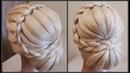 Прически Обучение Прическам Красивая текстурная прическа Course on hairstyles