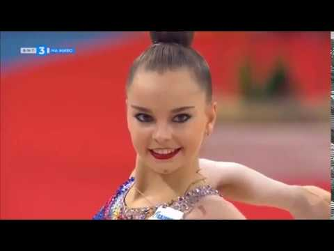 Арина Аверина лента многоборье II Чемпионат Мира София,Болгария 2018