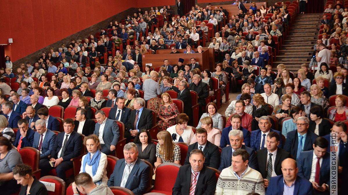 инаугурация вострикова, чайковский район, 2018 год