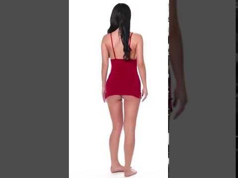 Avidlove Women Chemises Lingerie Mini Babydoll Sleepwear Strappy lace Dress
