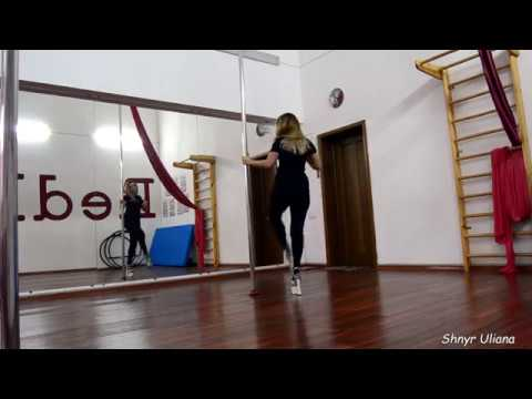 Exotic Pole Dance Performance by Uliana Shnyr. Школа танців і спорту RedMOon. LVIV