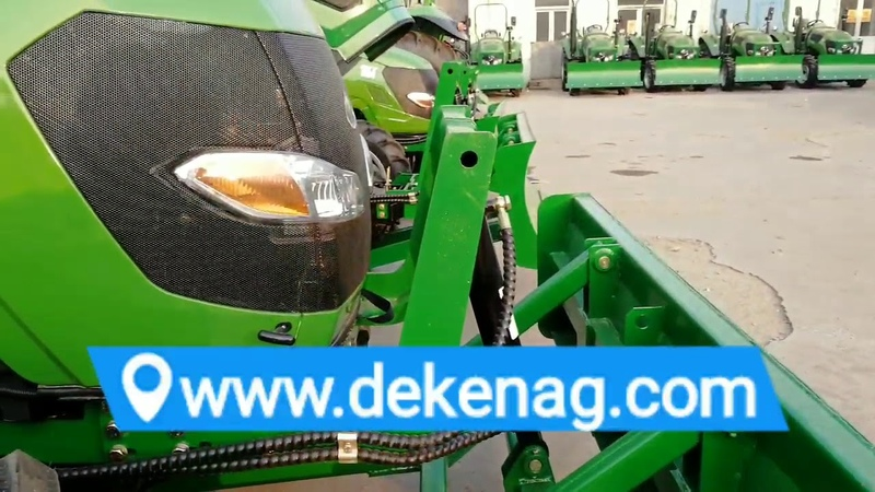 China tractor front mounted dozer