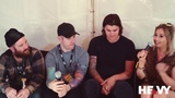 UNDEROATH Interview with HEAVY TV @ Unify The Gathering 2019
