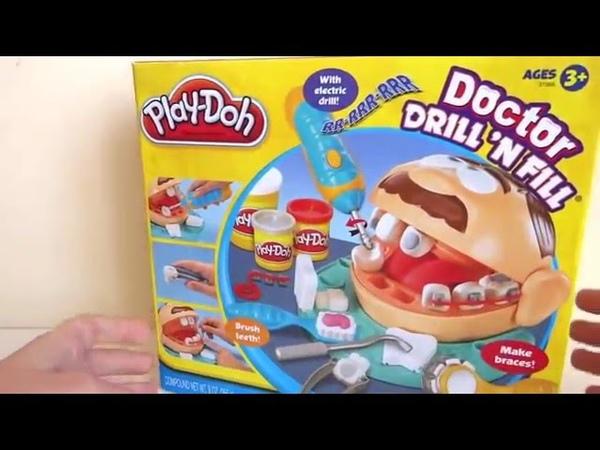 игровой набор пластилина Мистер зубастик Play-Doh