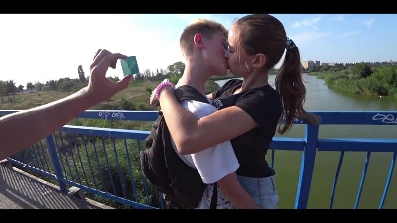Kissing Prank 2019,KISS THE CARD FOCUS,Russian Smart Boy