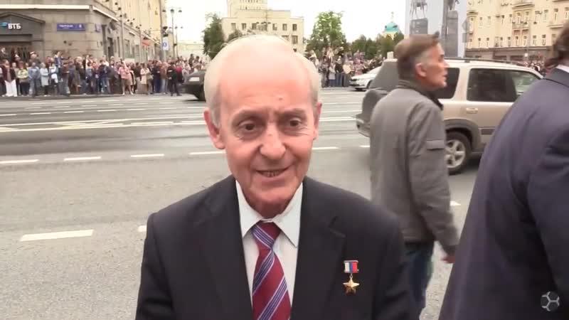 Речь Героя России на стихийном шествии в Москве 14 июля