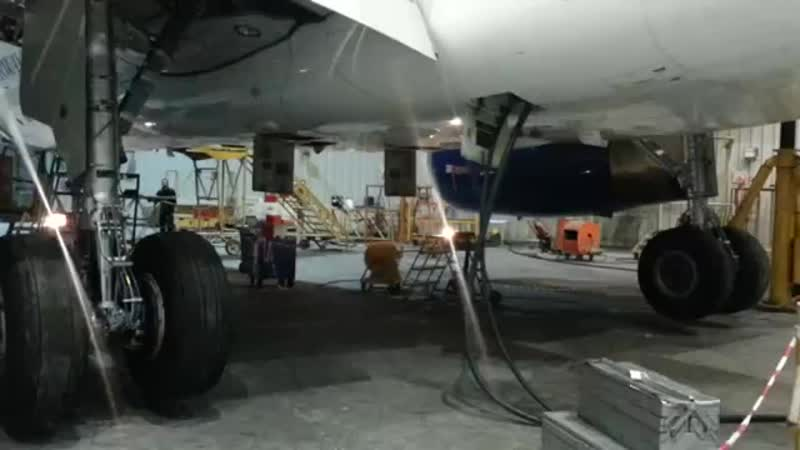 A320 Landing Gear retraction